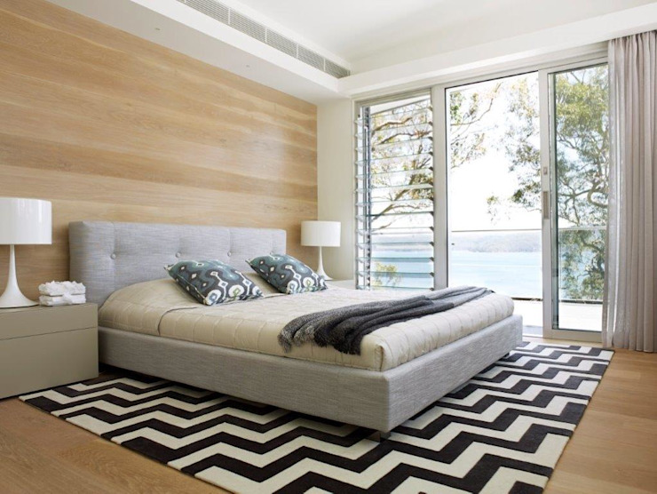 Avalon House Modern style bedroom by Greg Natale Design Modern