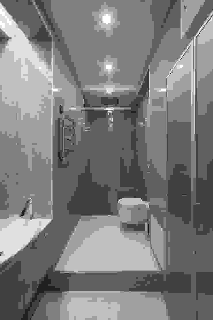 Современный интерьер Ванная комната в стиле минимализм от Мастерская дизайна Минимализм