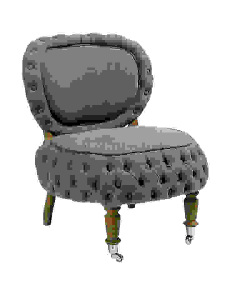 Кресло Barrio Puff Chair A051 от LeHome Interiors Классический Дерево Эффект древесины