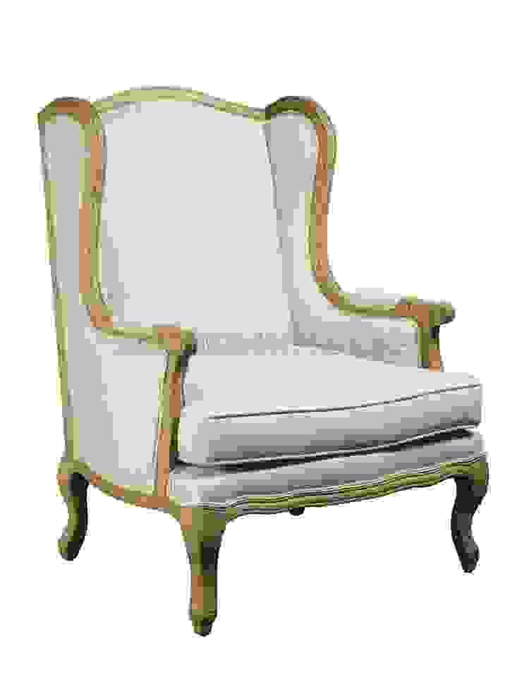 Кресло Bristol Armchair A027 от LeHome Interiors Классический Дерево Эффект древесины