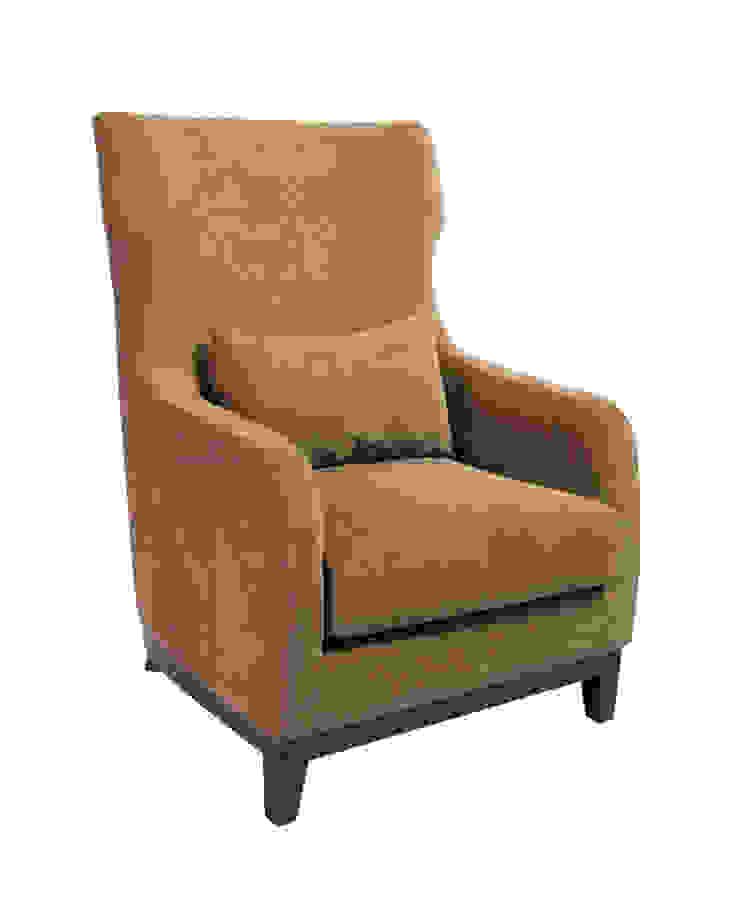 Кресло Giorgio Armchair A036:  в современный. Автор – LeHome Interiors, Модерн Дерево Эффект древесины