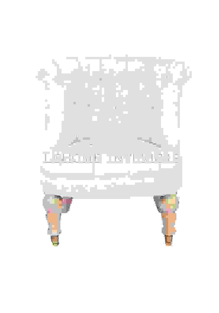 Кресло Puff Chair Milk A021 от LeHome Interiors Классический Дерево Эффект древесины