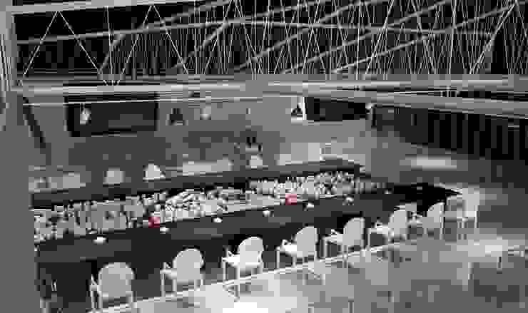 Пресс-центр <q>Сколково</q> Конференц-центры в стиле минимализм от Address Минимализм