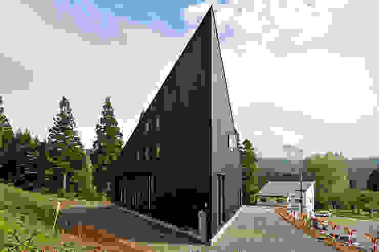 オーストラリア・ハウス オリジナルな 家 の 山本想太郎設計アトリエ オリジナル 木 木目調