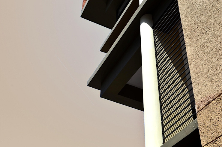 Elevation- Facade Elements Modern office buildings by Chaukor Studio Modern