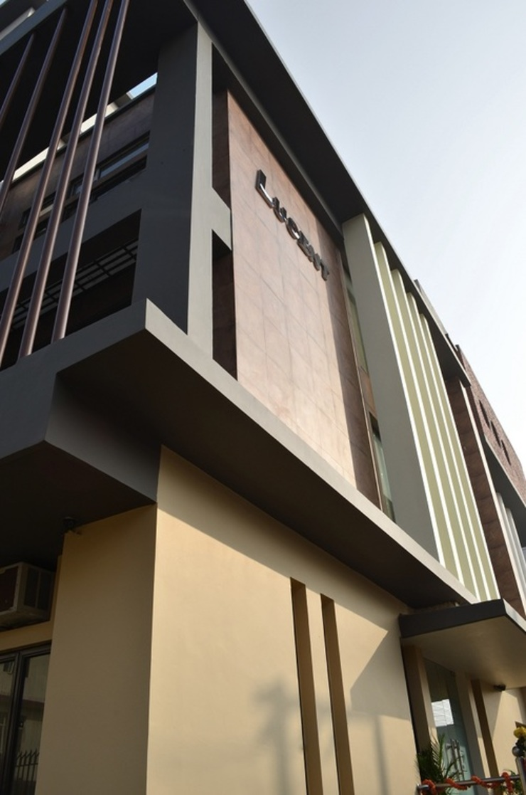 Elevation- Architectural Elements Minimalist office buildings by Chaukor Studio Minimalist