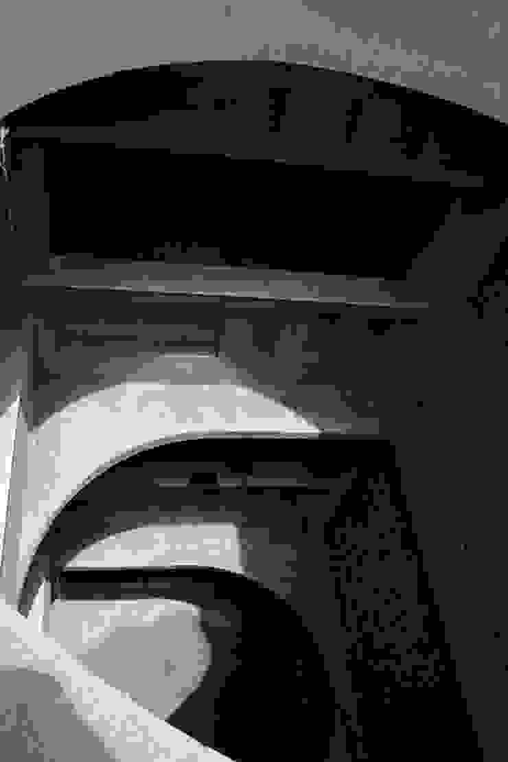 Atrium- Light and Geometry Minimalist office buildings by Chaukor Studio Minimalist