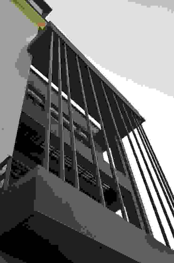 Elevation- Vertical Greens Minimalist office buildings by Chaukor Studio Minimalist