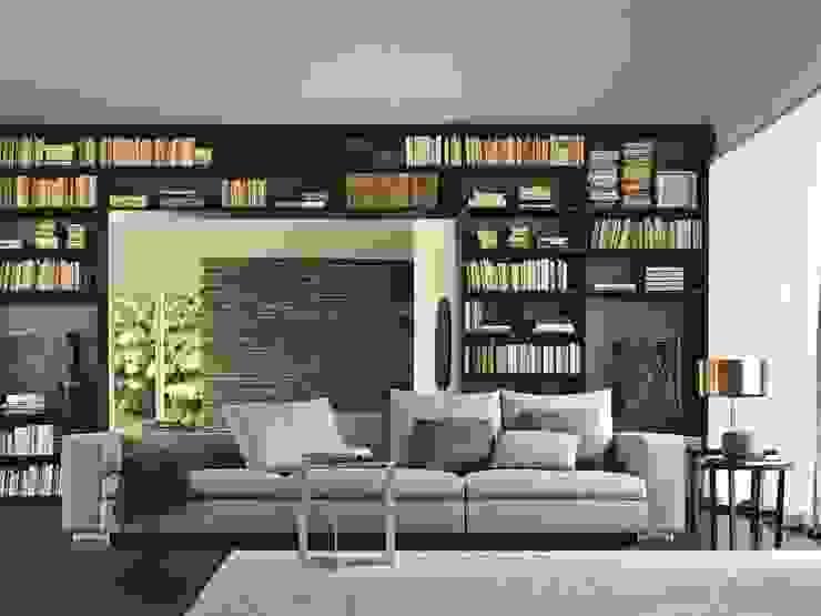 Design Lounge Hinke Wien Living roomSofas & armchairs Textile Metallic/Silver