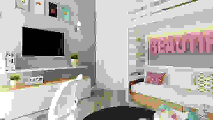 homify Industrial style nursery/kids room