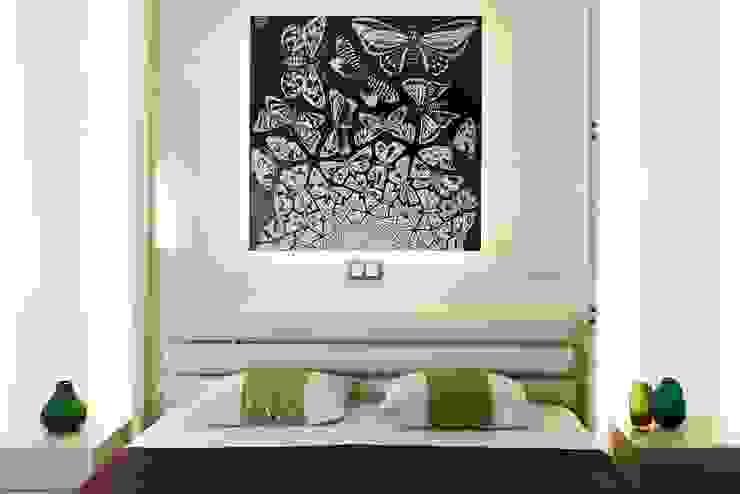 Camera da letto minimalista di Address Minimalista