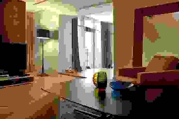 Квартира Гостиная в стиле минимализм от Address Минимализм