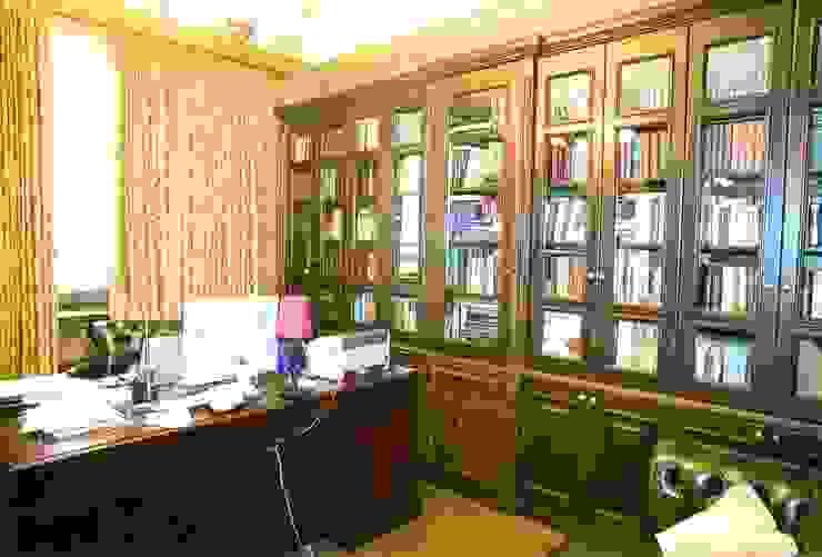 Мебельная мастерская Александра Воробьева Навчання/офісШафи і стелажі Дерево