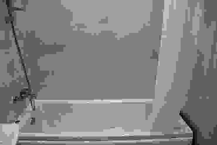 """Процесс ремонта 2-комнатной квартиры в ЖК """"Екатеринодар"""" Ванная в классическом стиле от Студия интерьерного дизайна happy.design Классический"""