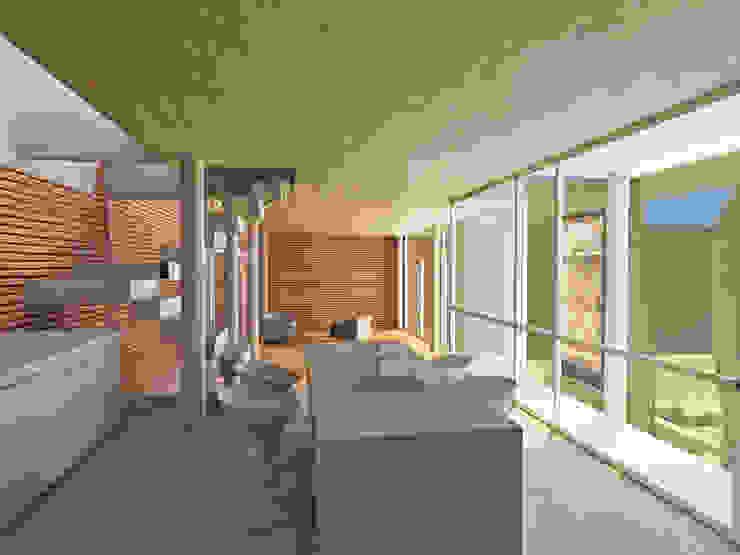 Multiespacios PA42 Casas modernas: Ideas, imágenes y decoración de Rr+a bureau de arquitectos - La Plata Moderno