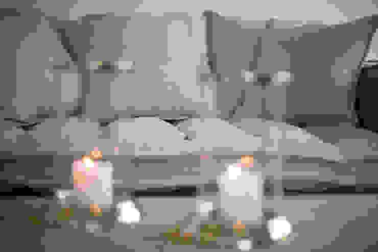Homestaging Musterwohnung auf Sylt Wohnzimmer im Landhausstil von Immofoto-Sylt Landhaus