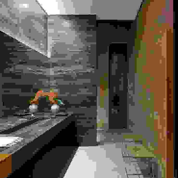 Casa Capitão do Mato Banheiros modernos por Hermanny Arquitetura Moderno