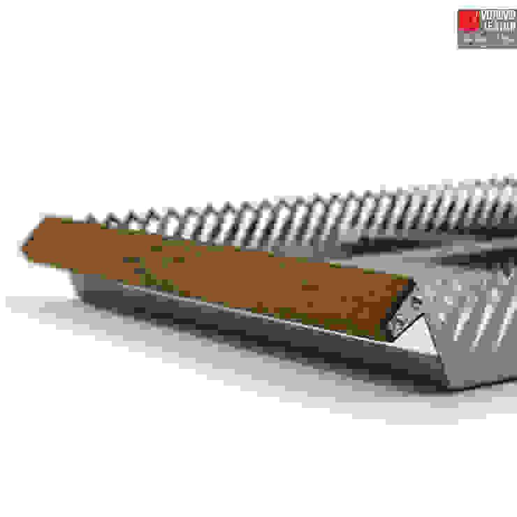 Millepiedi | Vassoio da servizio di Vitruvio Design Moderno Ferro / Acciaio