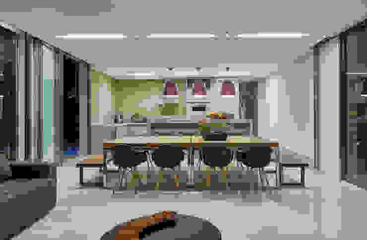 Residência Condomínio Hibisco Cozinhas clássicas por Estela Netto Arquitetura e Design Clássico