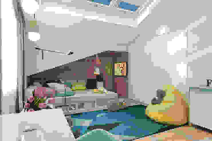 Chambre d'enfant minimaliste par Solo Design Studio Minimaliste