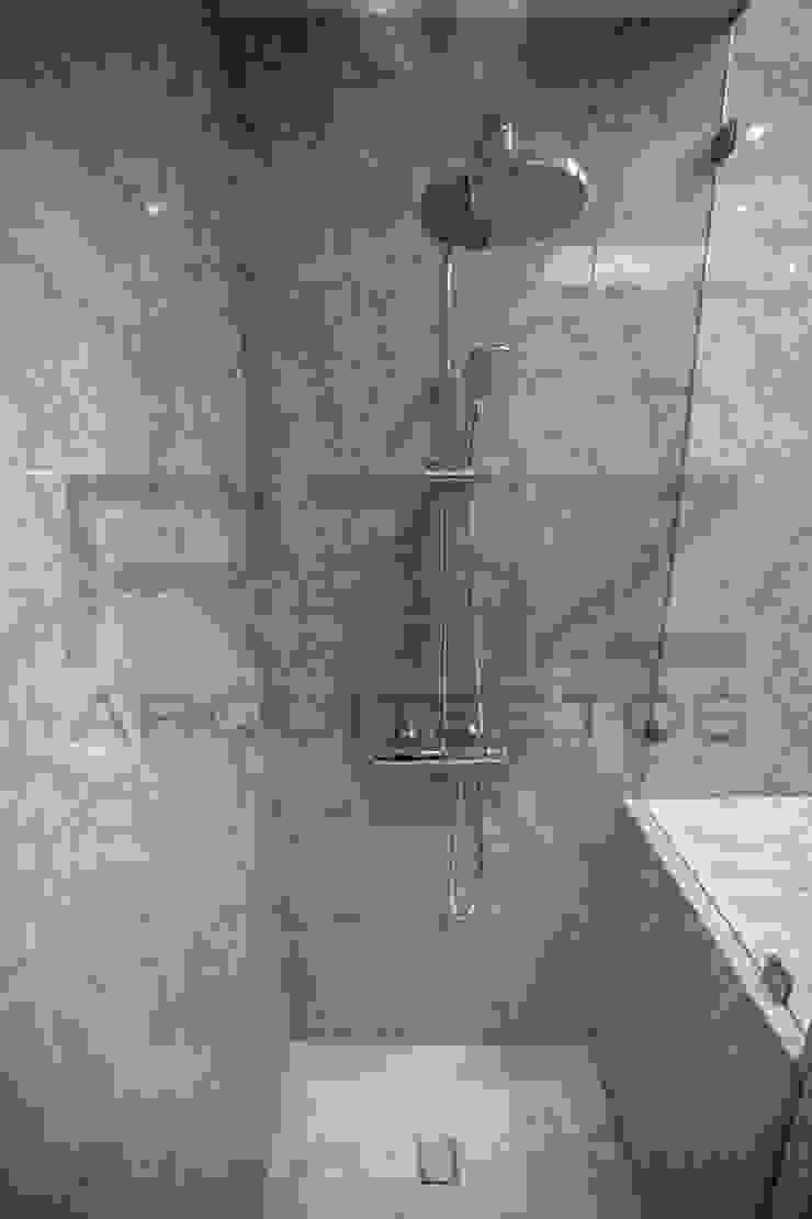 baño en marmol Baños modernos de RTZ-Arquitectos Moderno