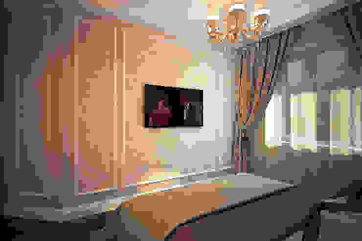 В лучших традициях классики Спальня в классическом стиле от Solo Design Studio Классический