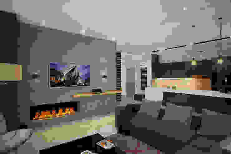 Salas / recibidores de estilo  por Solo Design Studio