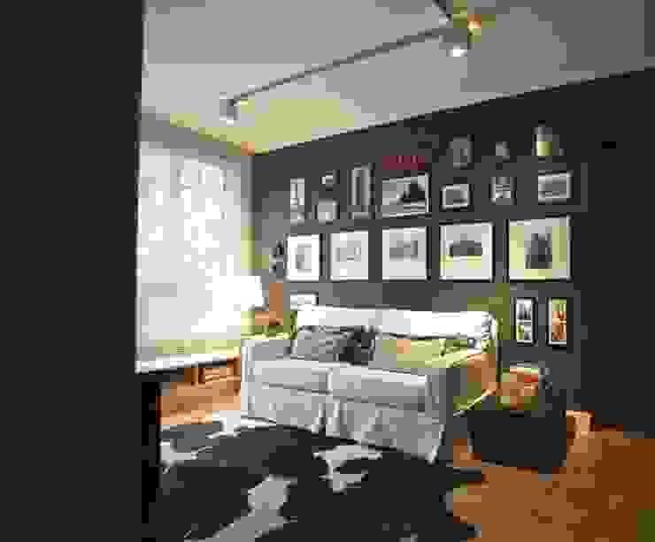 Гостиная в стиле модерн от Superstudiob Модерн