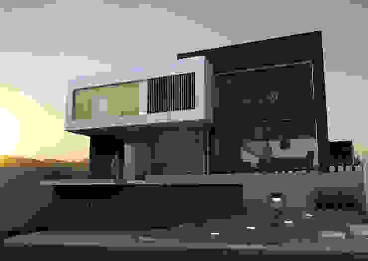 모던스타일 주택 by fc3arquitectura 모던