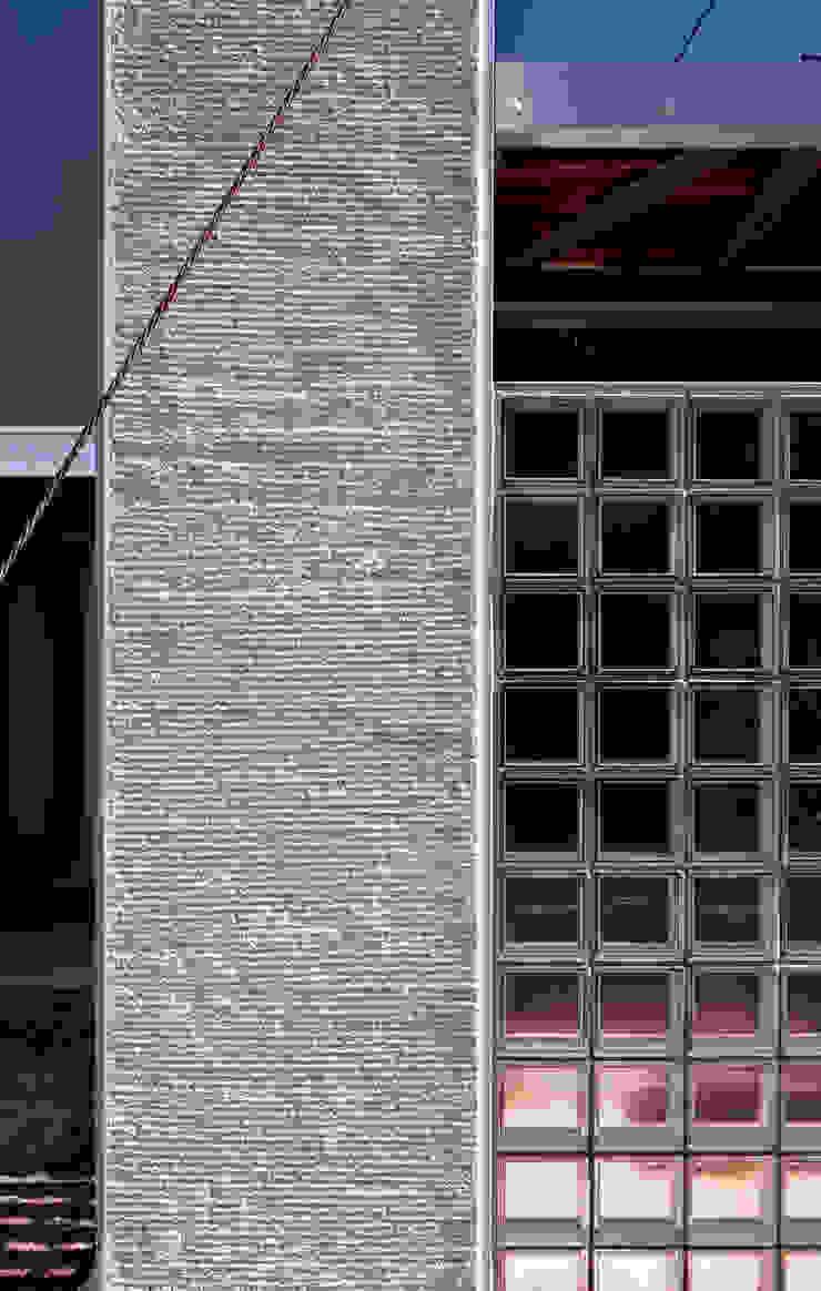 線と面の家:世田谷の狭小二世帯住宅 モダンな 家 の AIRアーキテクツ建築設計事務所 モダン
