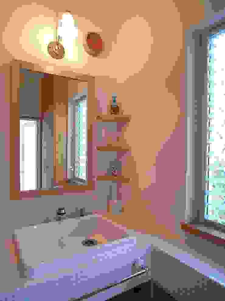 平尾の家 モダンスタイルの お風呂 の 株式会社 atelier waon モダン
