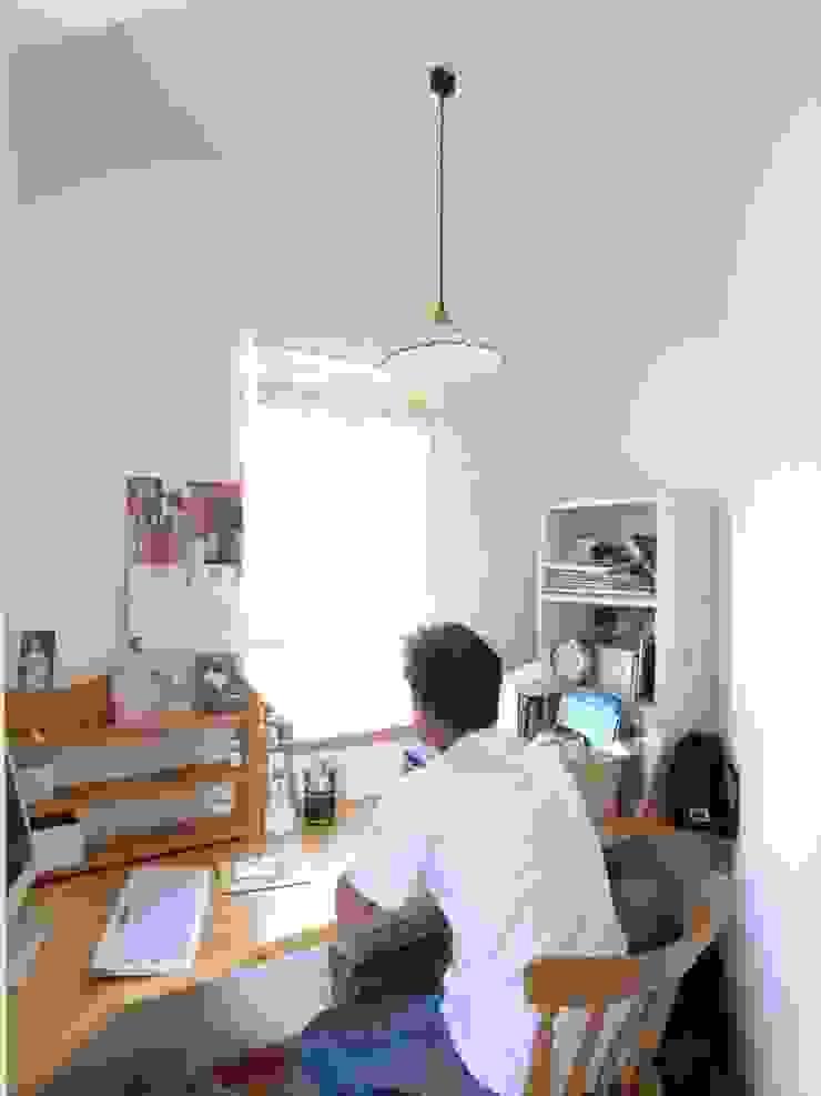 平尾の家 モダンデザインの 書斎 の 株式会社 atelier waon モダン