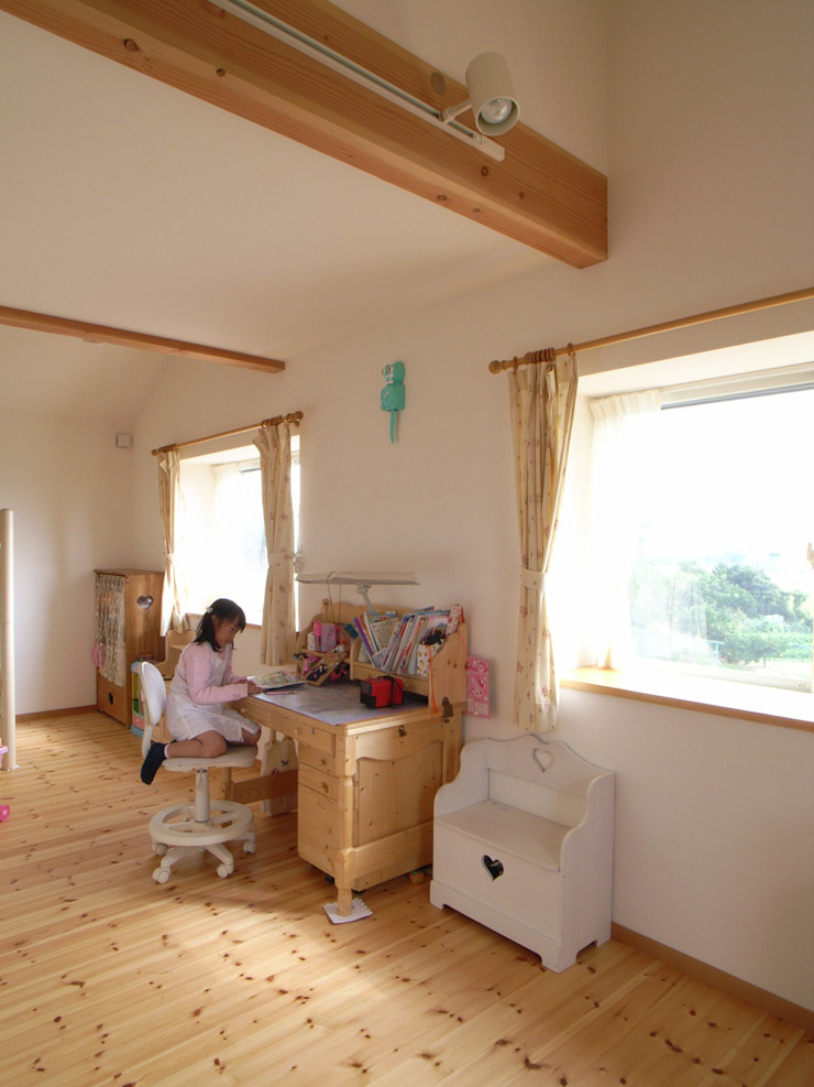 平尾の家 モダンデザインの 子供部屋 の 株式会社 atelier waon モダン