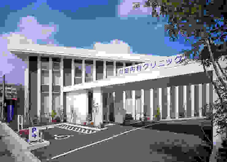 川畑内科クリニック モダンな病院 の 有限会社 吉永建築設計事務所 モダン