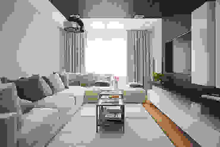 Квартира по ул. Щорса Гостиная в стиле модерн от Студия интерьера МЕСТО Модерн