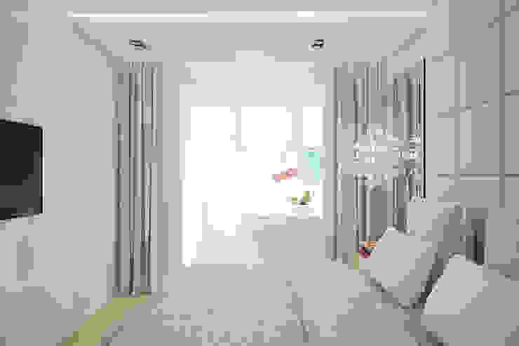 Квартира по ул. Щорса Спальня в стиле модерн от Студия интерьера МЕСТО Модерн