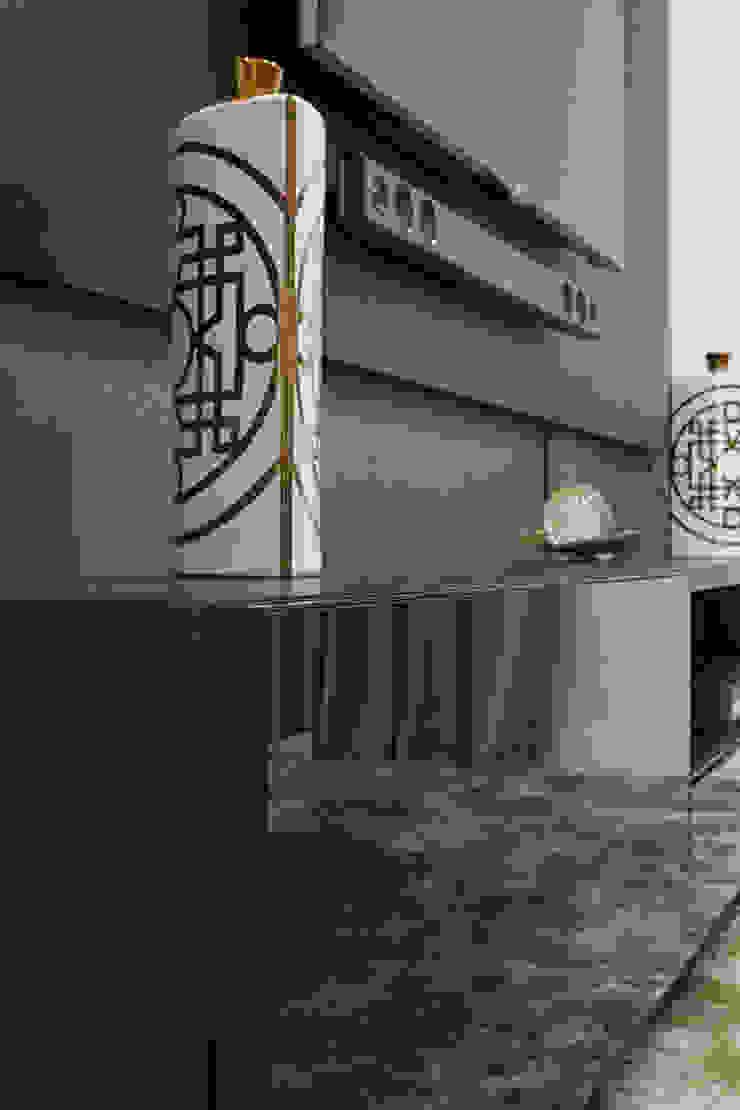 Apartamento Frankfurt Salas de estar modernas por Cembrani móveis Moderno