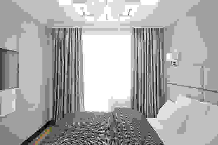 Квартира в районе Ольшанка Спальня в стиле модерн от Студия интерьера МЕСТО Модерн