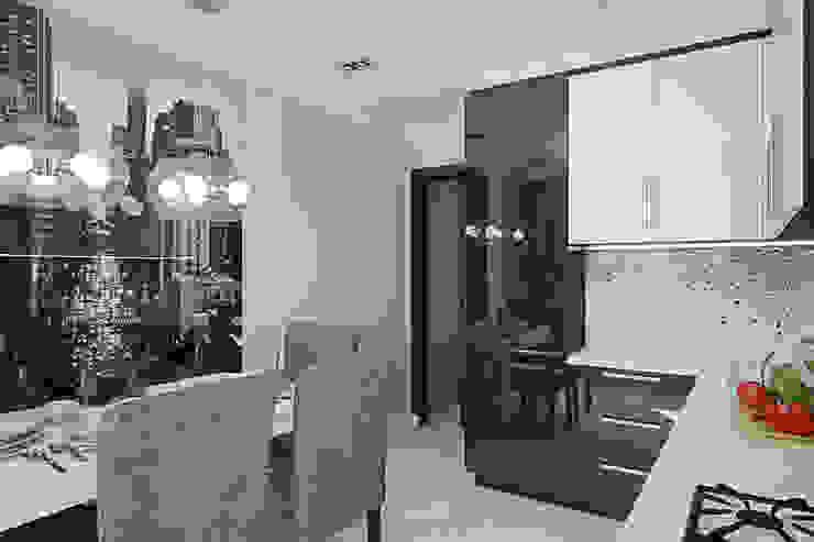 Квартира в районе Ольшанка Кухня в стиле модерн от Студия интерьера МЕСТО Модерн
