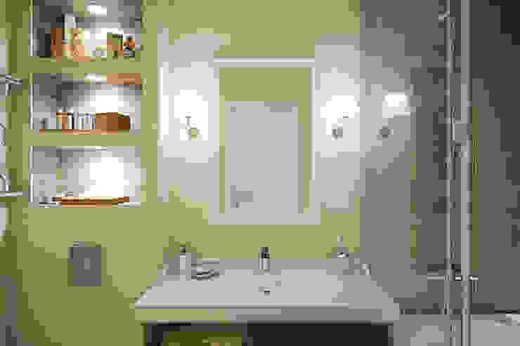 Квартира в районе Ольшанка Ванная комната в стиле модерн от Студия интерьера МЕСТО Модерн