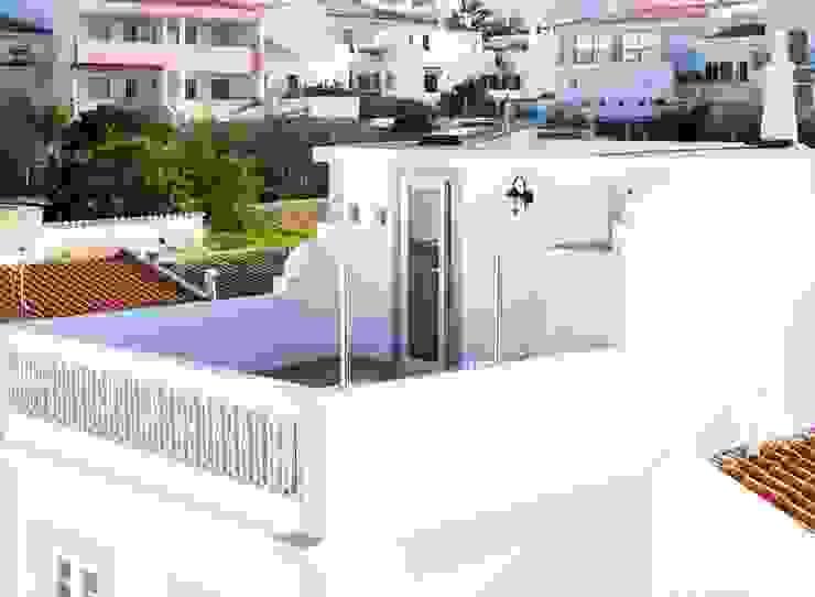 Casa Sul, um lugar onde se sente a alma portuguesa. Varandas, marquises e terraços rústicos por alma portuguesa Rústico