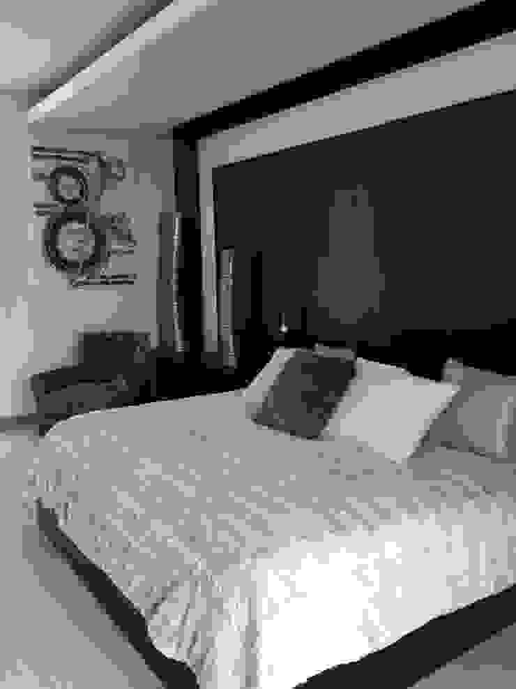 Habitación con estilo de ARKIZA ARQUITECTOS by Arq. Jacqueline Zago Hurtado Minimalista Madera Acabado en madera