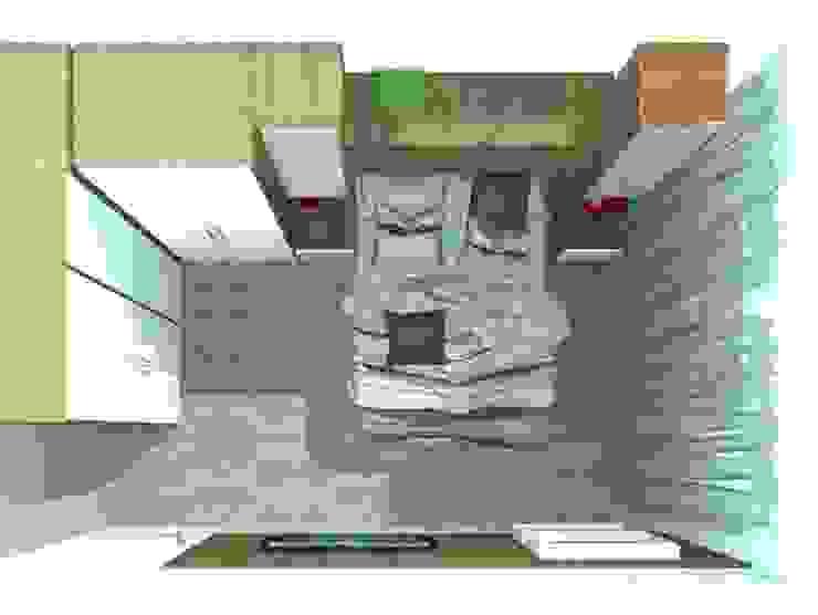 Dormitório Casal Quartos modernos por Arquiteta Elaine Silva Moderno