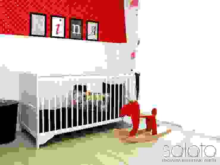 Dom jednorodzinny II, Maszewo. Skandynawski pokój dziecięcy od Sałata-Pracownia Architektury Wnętrz Skandynawski