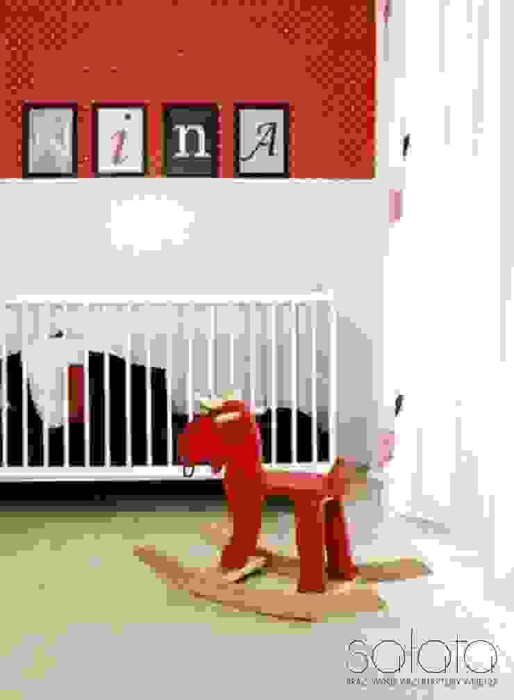 İskandinav Çocuk Odası Sałata-Pracownia Architektury Wnętrz İskandinav