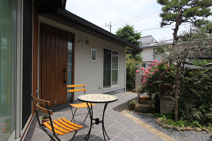 Patios by アトリエグローカル一級建築士事務所,
