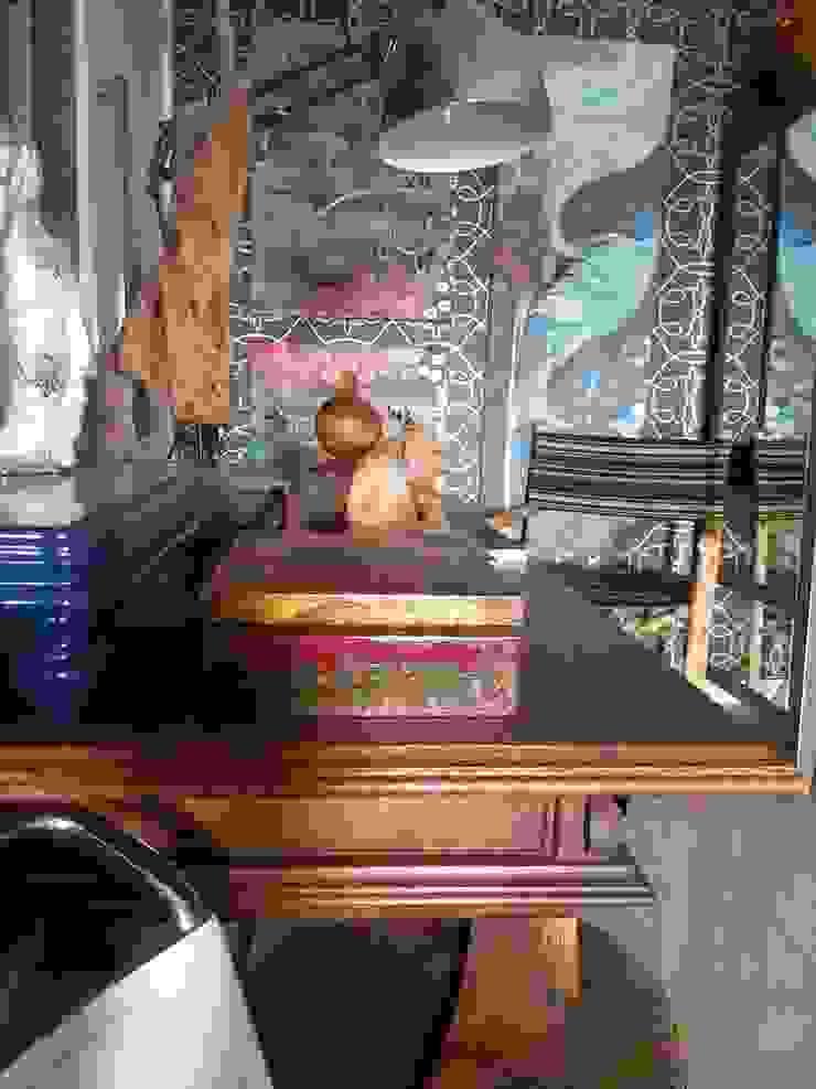 Detalhes living. Salas de estar ecléticas por Lucio Nocito Arquitetura e Design de Interiores Eclético