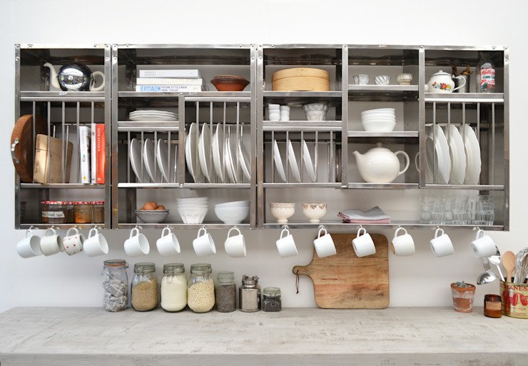 Modular shelving The Plate Rack KitchenStorage