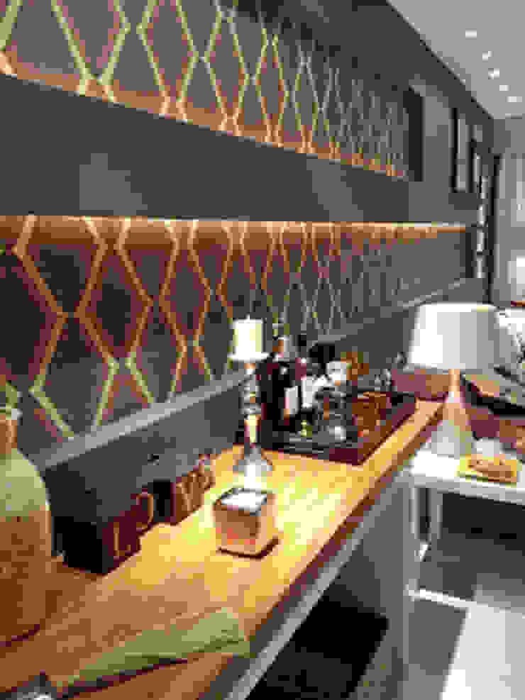 Living com muito estilo Salas de estar modernas por Lucio Nocito Arquitetura e Design de Interiores Moderno