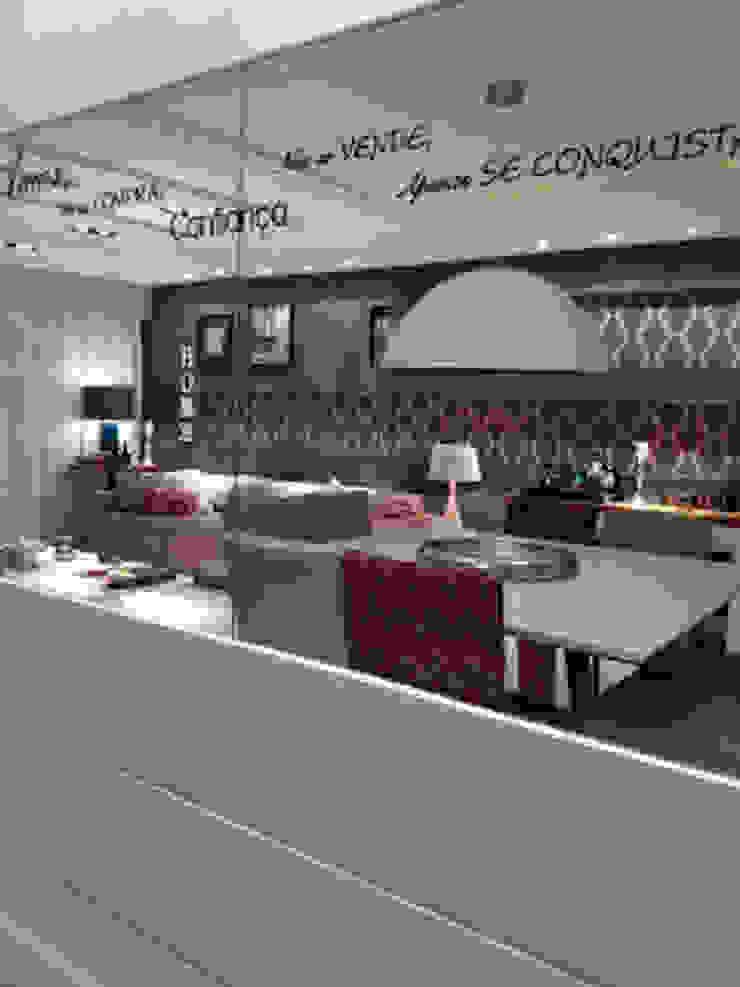Detalhes da sala de jantar. Salas de jantar modernas por Lucio Nocito Arquitetura e Design de Interiores Moderno